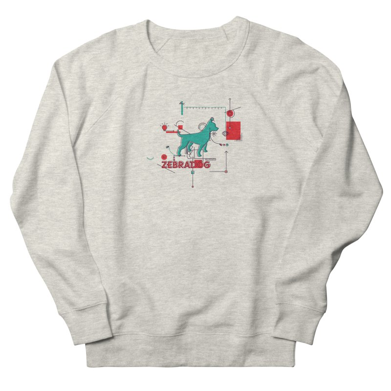 Process Men's French Terry Sweatshirt by Zebradog Apparel & Accessories