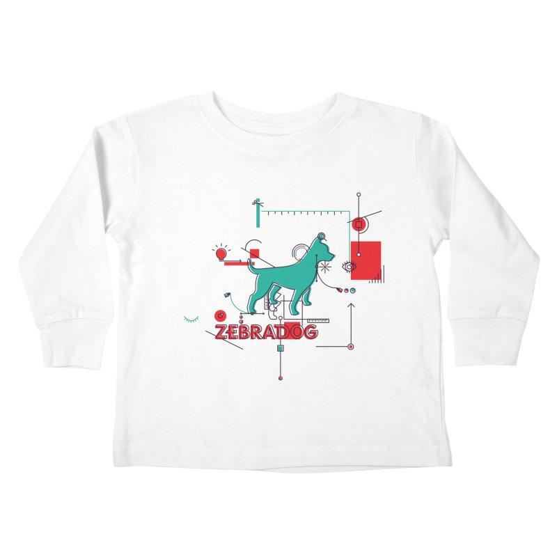 Process Kids Toddler Longsleeve T-Shirt by Zebradog Apparel & Accessories