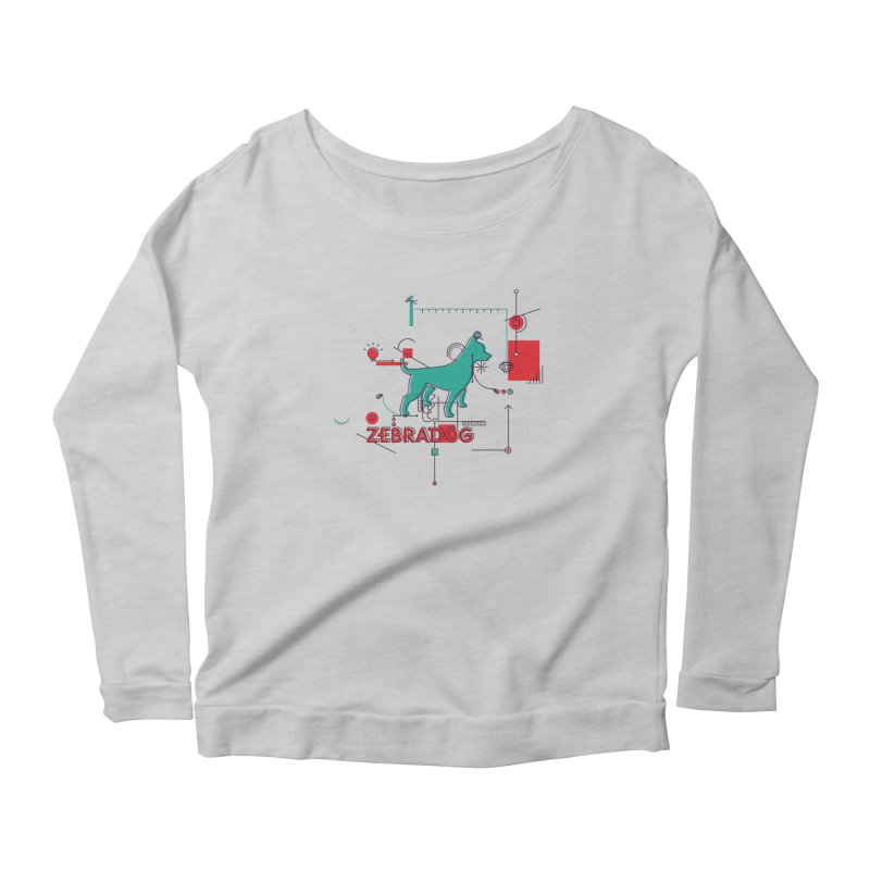 Process Women's Longsleeve T-Shirt by Zebradog Apparel & Accessories