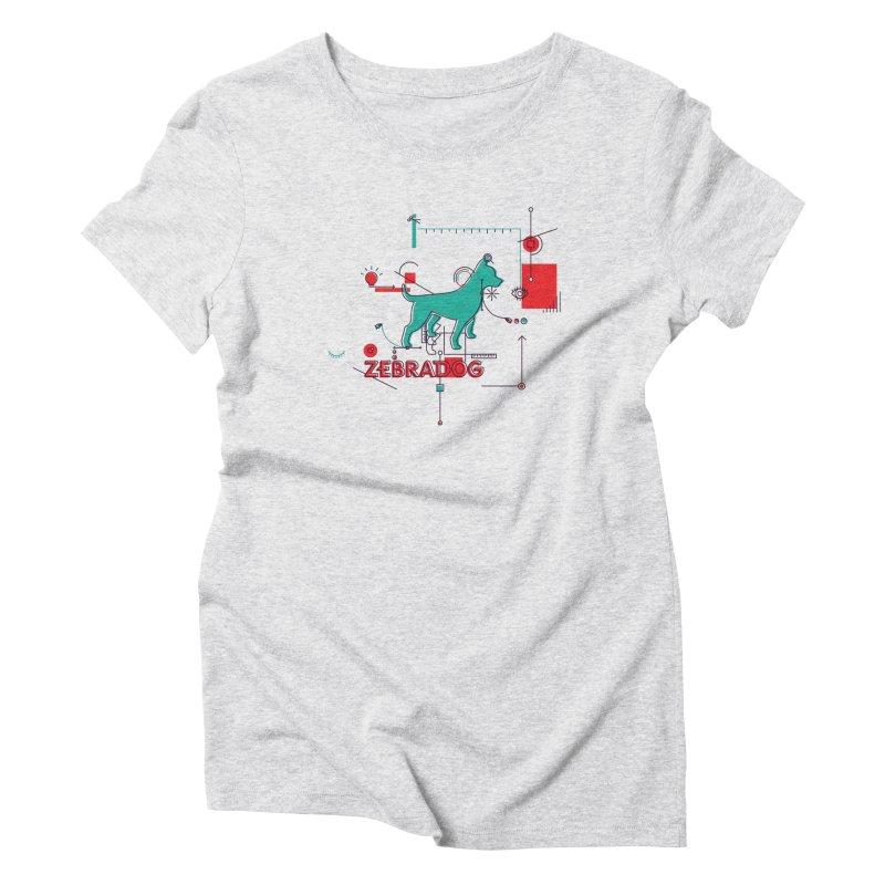 Process Women's T-Shirt by Zebradog Apparel & Accessories