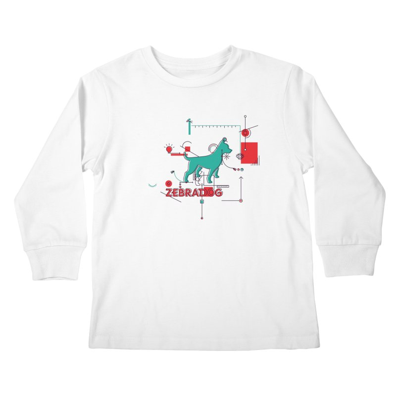 Process Kids Longsleeve T-Shirt by Zebradog Apparel & Accessories