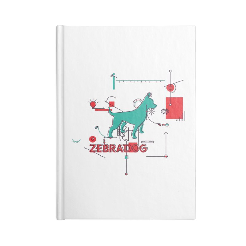Process Accessories Blank Journal Notebook by Zebradog Apparel & Accessories