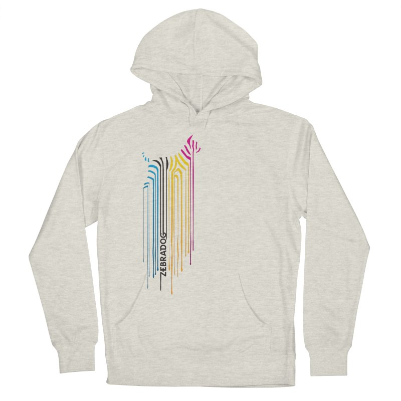 DripDog Men's French Terry Pullover Hoody by Zebradog Apparel & Accessories
