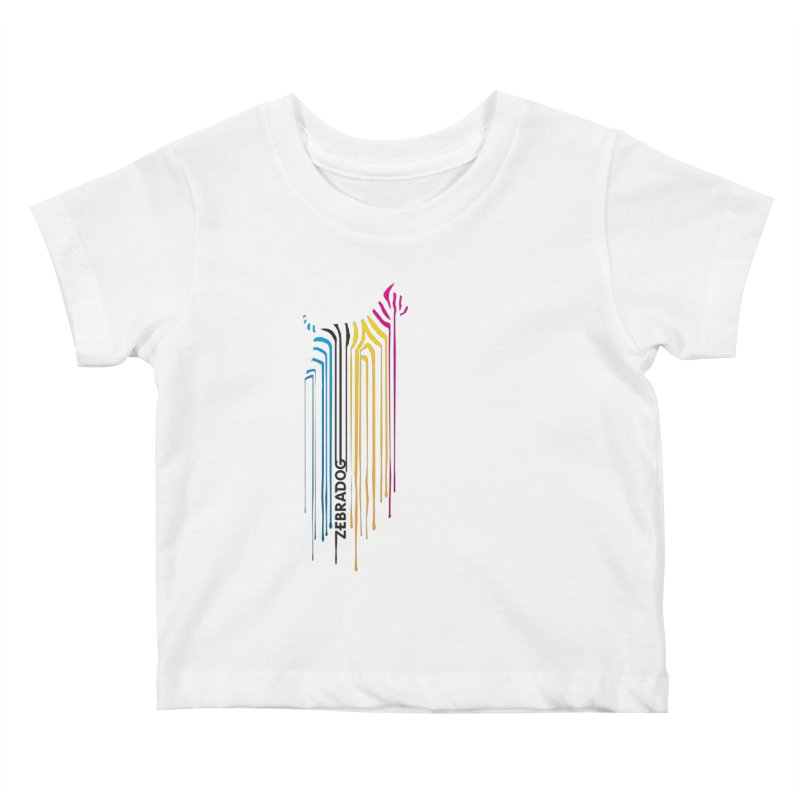 DripDog Kids Baby T-Shirt by Zebradog Apparel & Accessories