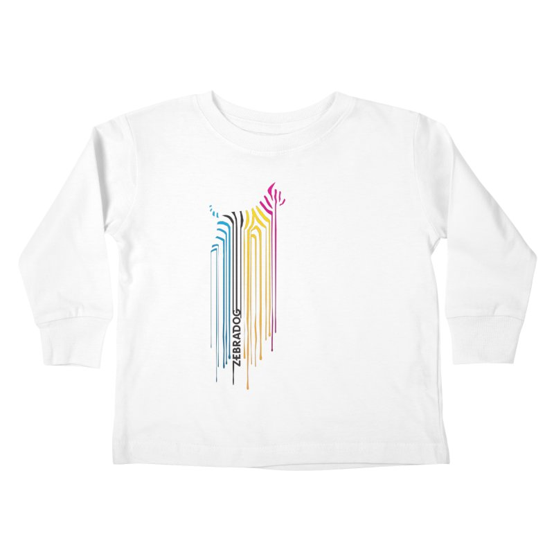 DripDog Kids Toddler Longsleeve T-Shirt by Zebradog Apparel & Accessories