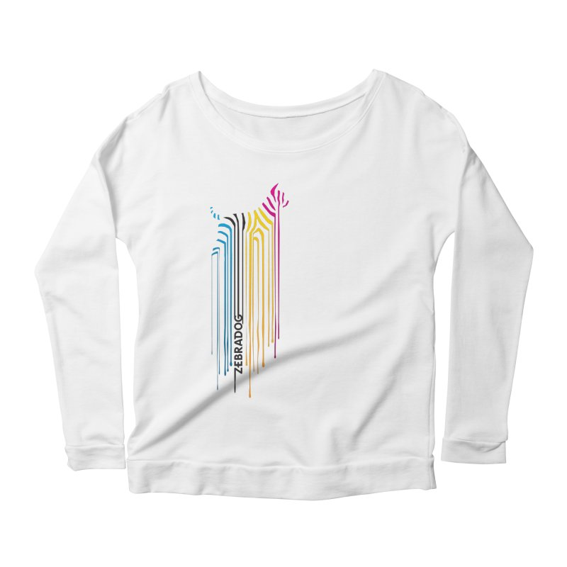 DripDog Women's Longsleeve T-Shirt by Zebradog Apparel & Accessories