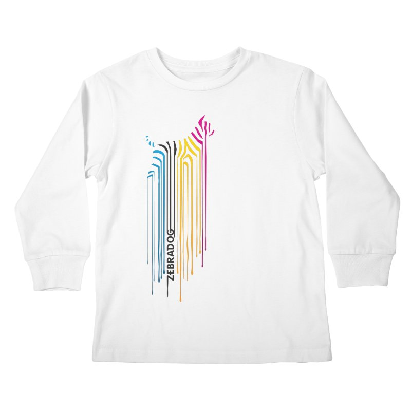 DripDog Kids Longsleeve T-Shirt by Zebradog Apparel & Accessories