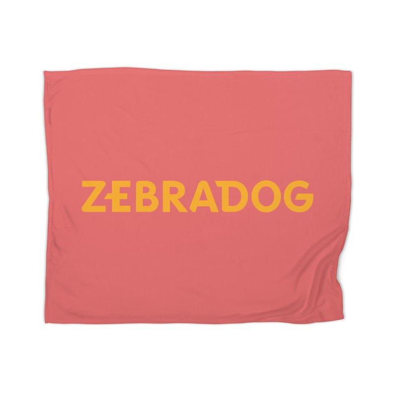 Orange Crush Home Blanket by Zebradog Apparel & Accessories