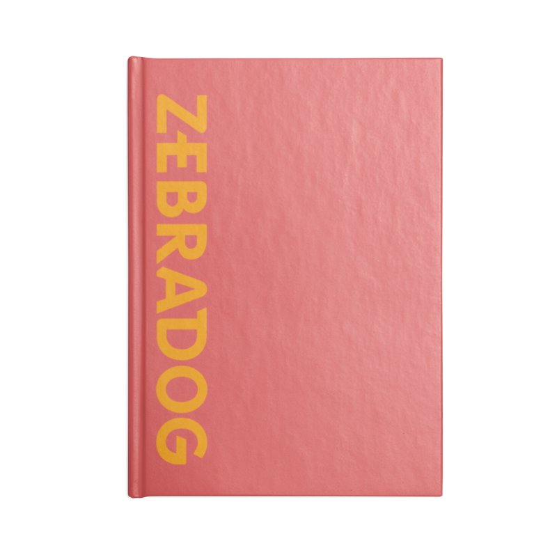Orange Crush Accessories Blank Journal Notebook by Zebradog Apparel & Accessories