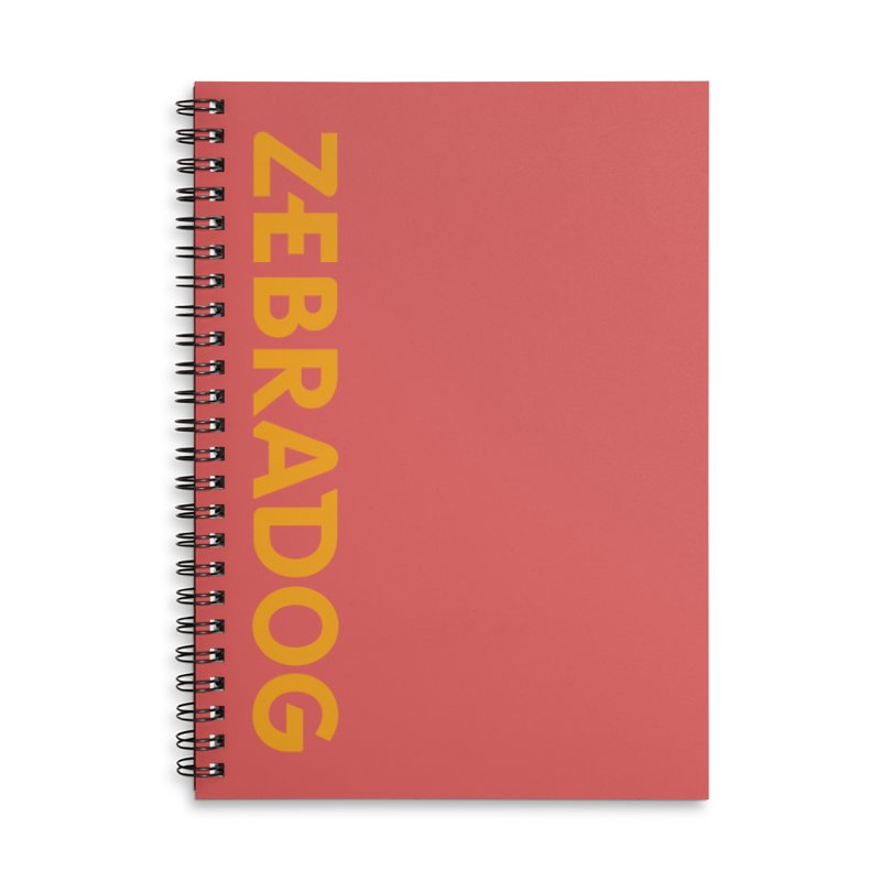 Orange Crush Accessories Notebook by Zebradog Apparel & Accessories