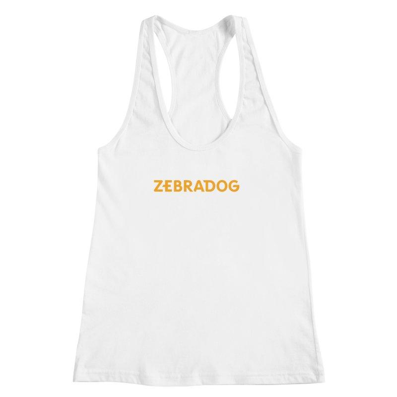 Orange Crush Women's Racerback Tank by Zebradog Apparel & Accessories