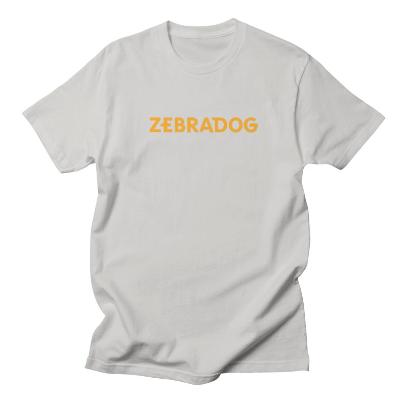 Orange Crush Men's T-Shirt by Zebradog Apparel & Accessories