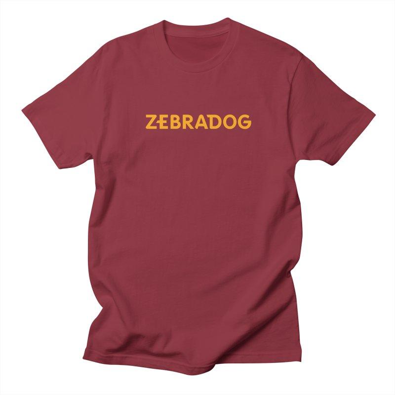 Orange Crush Men's Regular T-Shirt by Zebradog Apparel & Accessories