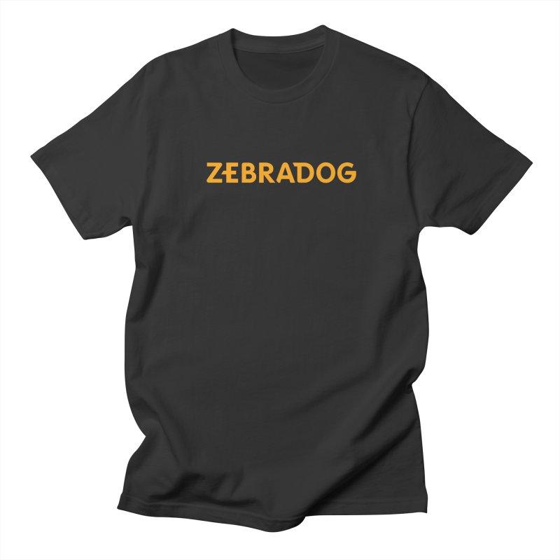Orange Crush Men's T-Shirt by Zebradog Apparel & Accessories