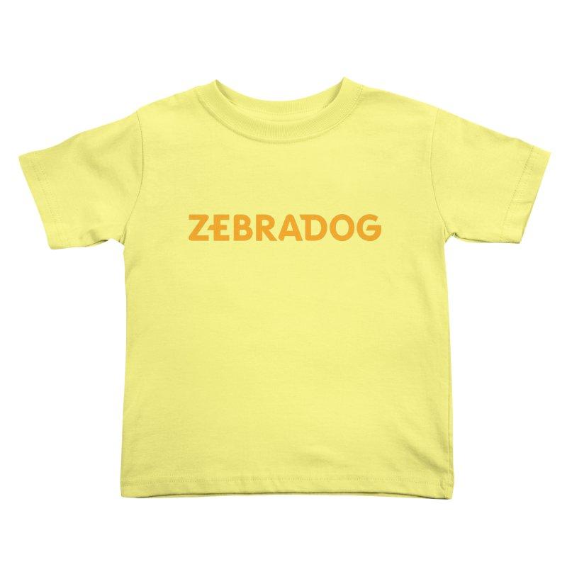 Orange Crush Kids Toddler T-Shirt by Zebradog Apparel & Accessories