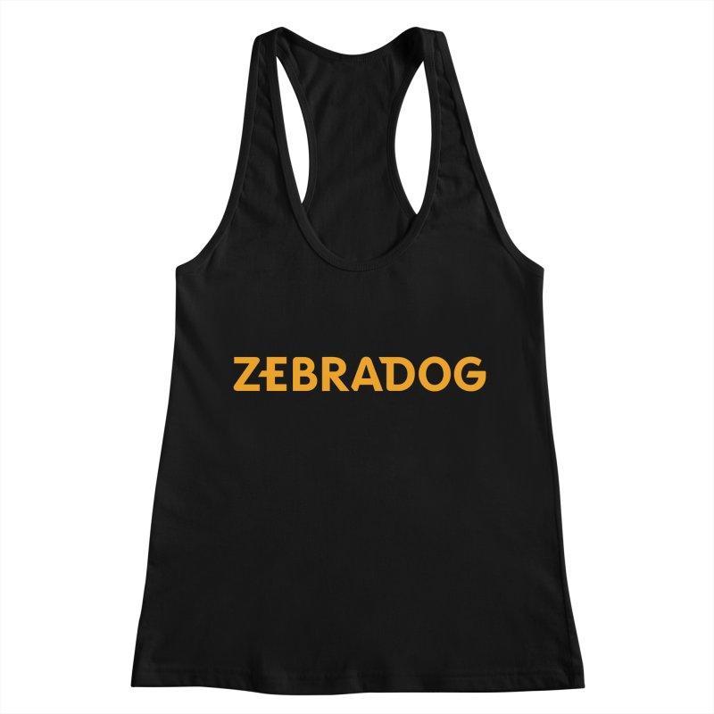 Orange Crush Women's Tank by Zebradog Apparel & Accessories