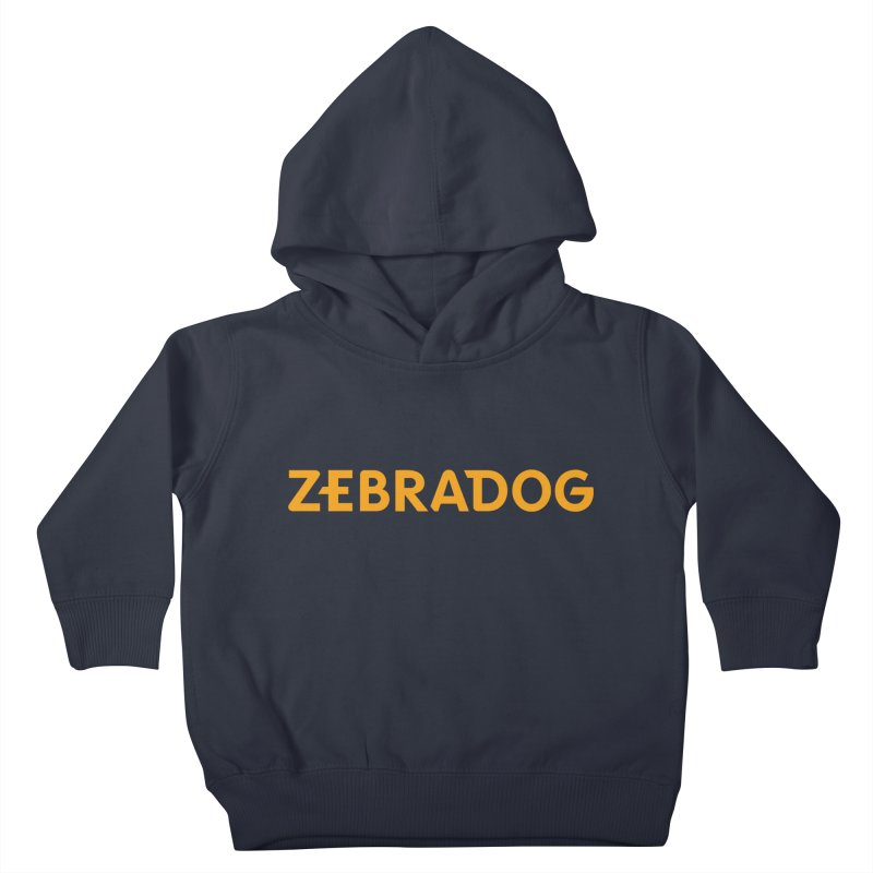 Orange Crush Kids Toddler Pullover Hoody by Zebradog Apparel & Accessories