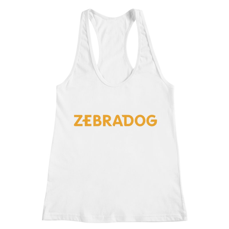 Orange Crush Women's Racerback Tank by Zebradog Apparel & Accessories