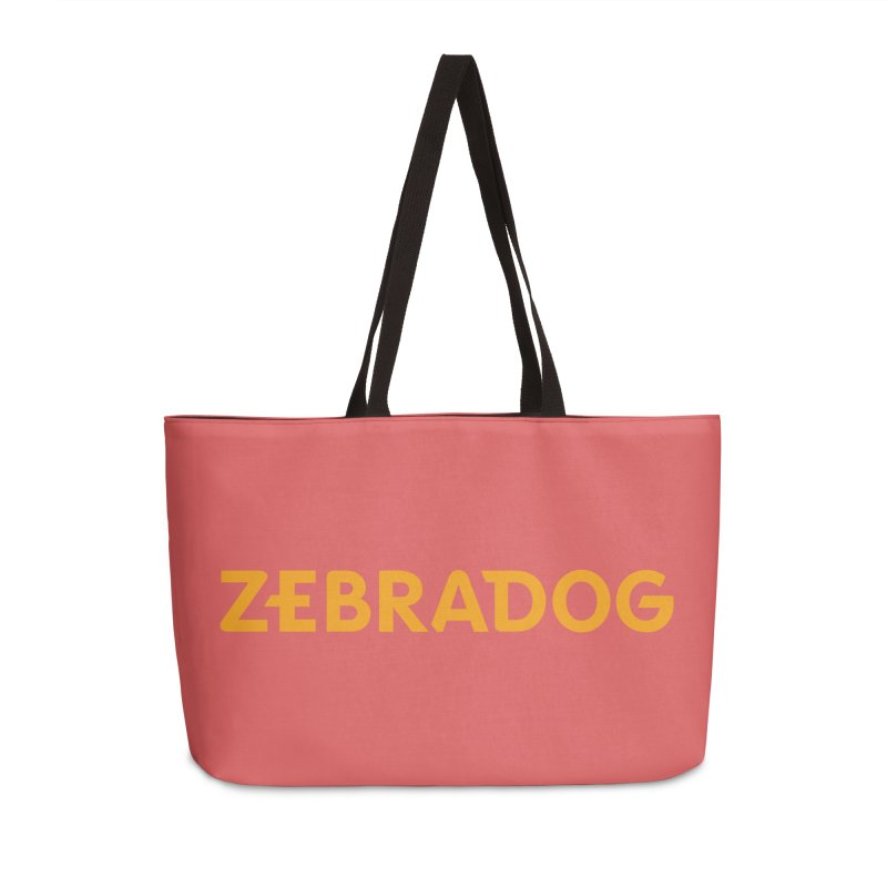 Orange Crush Accessories Weekender Bag Bag by Zebradog Apparel & Accessories