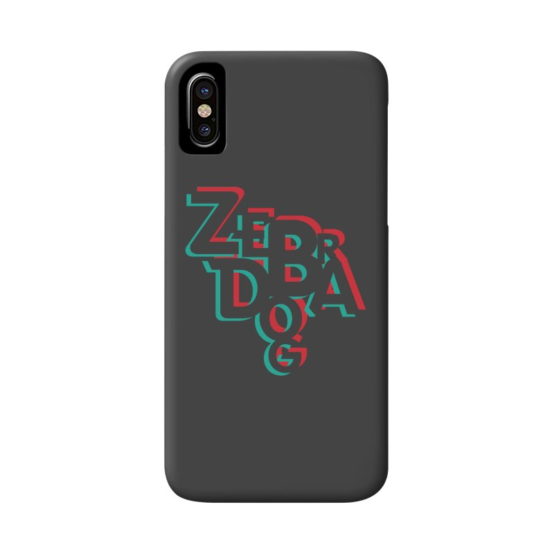 ZD3D Accessories Phone Case by Zebradog Apparel & Accessories