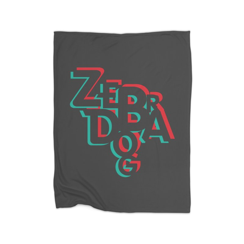 ZD3D Home Blanket by Zebradog Apparel & Accessories