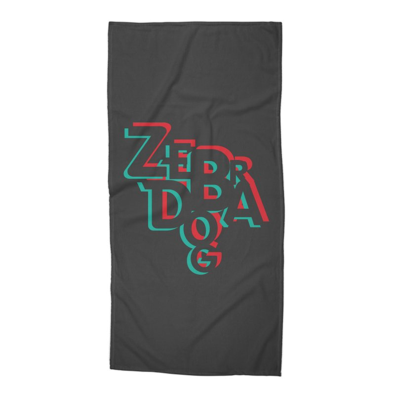 ZD3D Accessories Beach Towel by Zebradog Apparel & Accessories