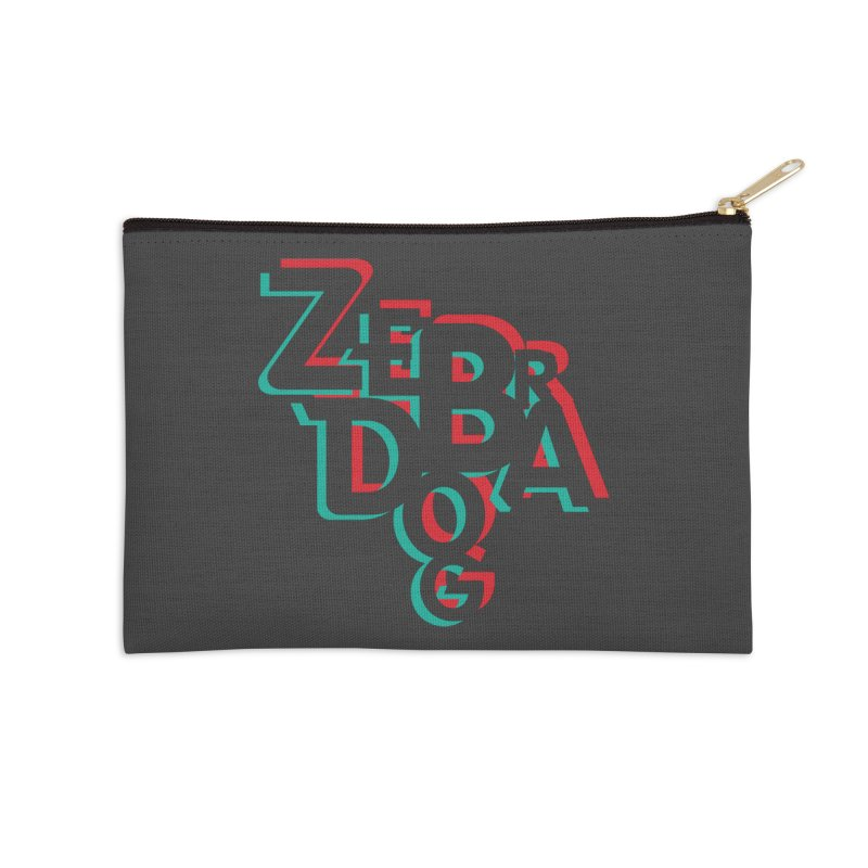 ZD3D Accessories Zip Pouch by Zebradog Apparel & Accessories