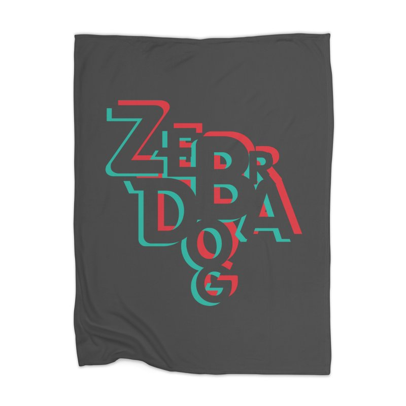 ZD3D Home Blanket by Zebradog Apparel & Accessories