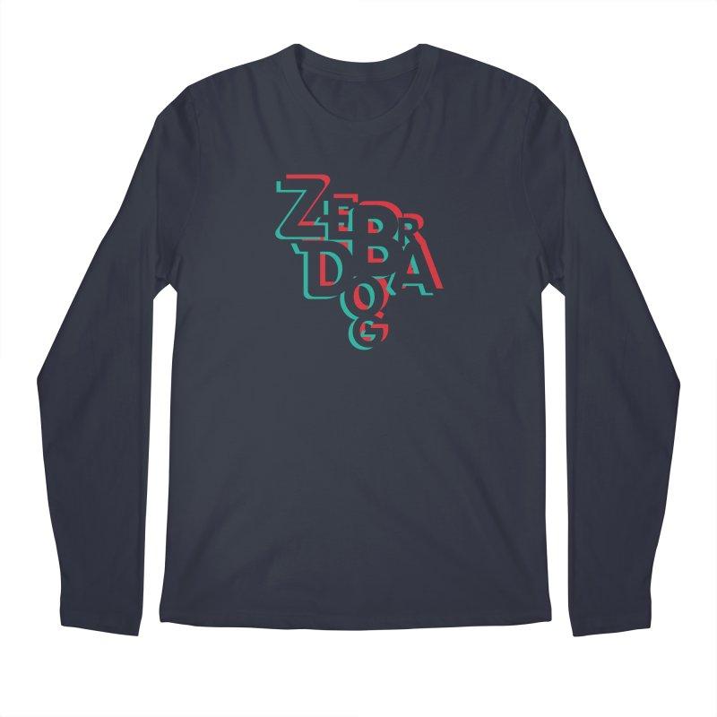 ZD3D Men's Longsleeve T-Shirt by Zebradog Apparel & Accessories