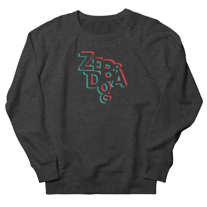 ZD3D Women's Sweatshirt by Zebradog Apparel & Accessories