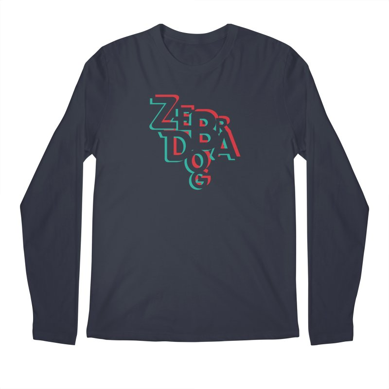 ZD3D Men's Longsleeve T-Shirt by Zebradog Apparel & Accessories