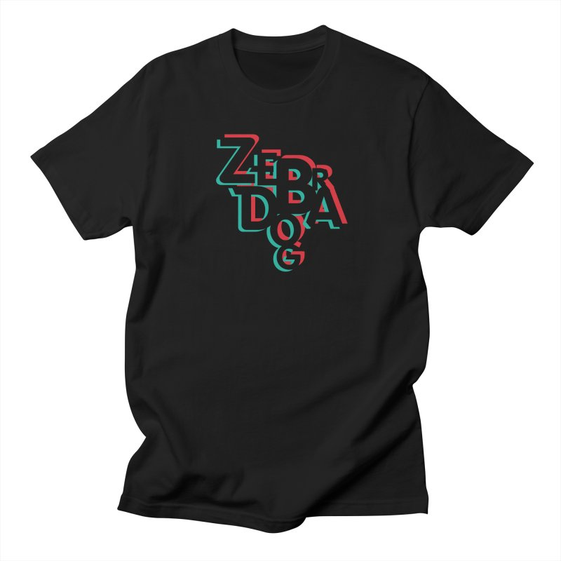ZD3D Men's Regular T-Shirt by Zebradog Apparel & Accessories