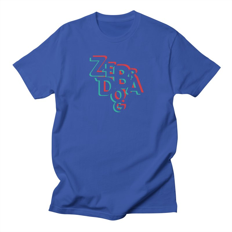 ZD3D Men's T-Shirt by Zebradog Apparel & Accessories