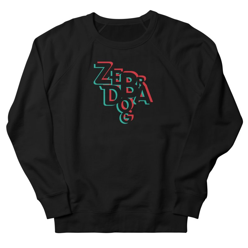 ZD3D Men's French Terry Sweatshirt by Zebradog Apparel & Accessories