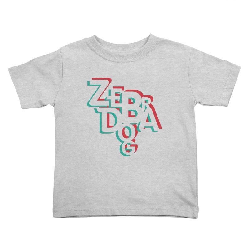 ZD3D Kids Toddler T-Shirt by Zebradog Apparel & Accessories