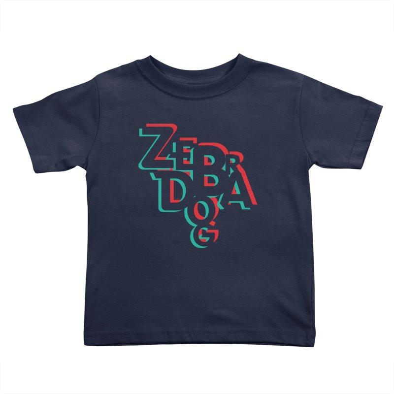ZD3D Kids Toddler T-Shirt by Zebradog Apparel & Accessories