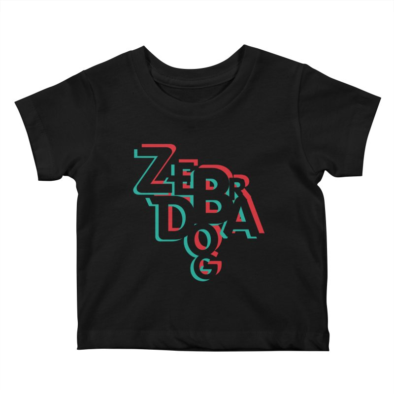 ZD3D Kids Baby T-Shirt by Zebradog Apparel & Accessories