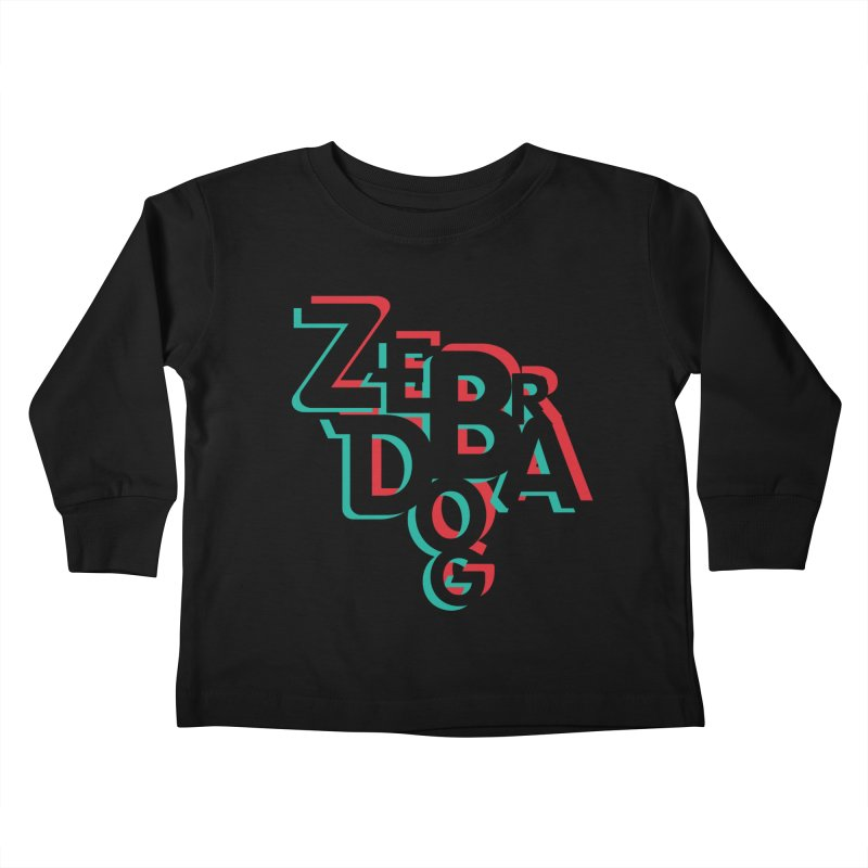 ZD3D Kids Toddler Longsleeve T-Shirt by Zebradog Apparel & Accessories