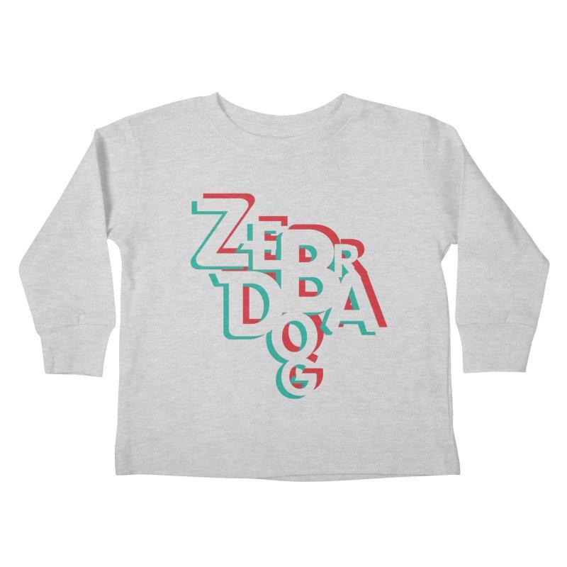 ZD3D Kids Toddler Longsleeve T-Shirt by Zebradog Apparel & Accessories