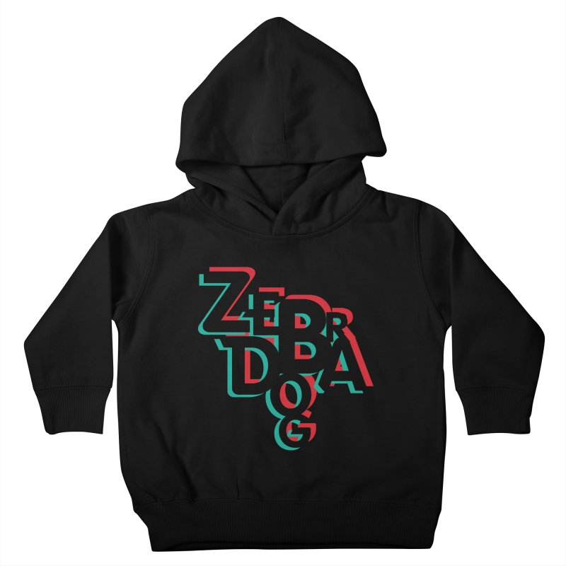 ZD3D Kids Toddler Pullover Hoody by Zebradog Apparel & Accessories
