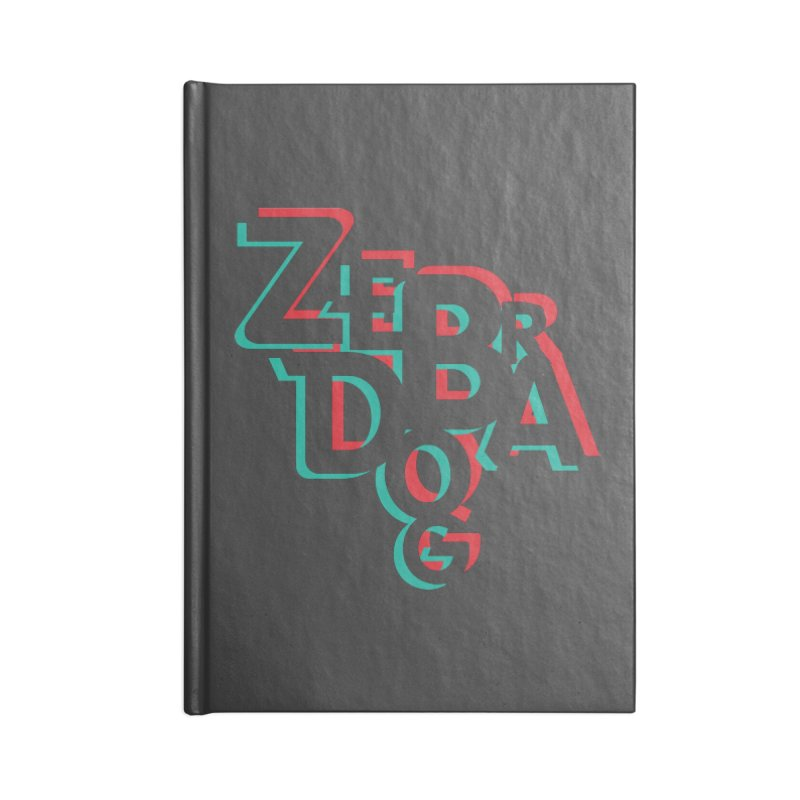 ZD3D Accessories Blank Journal Notebook by Zebradog Apparel & Accessories