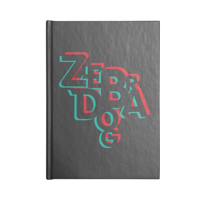 ZD3D Accessories Notebook by Zebradog Apparel & Accessories