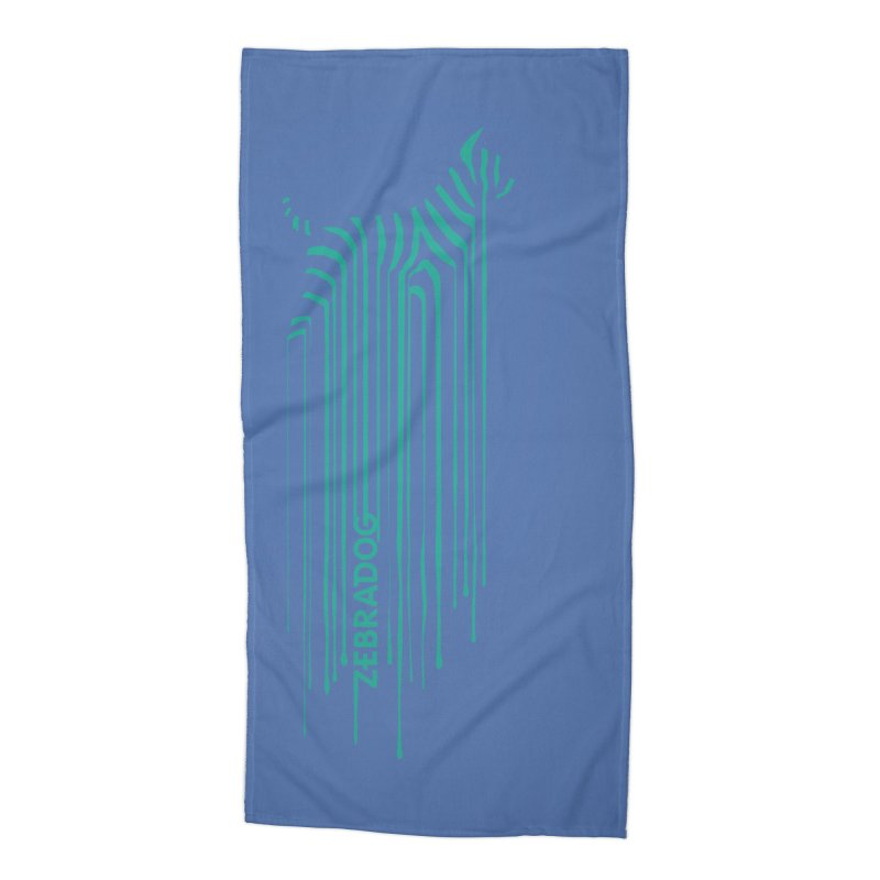 BlueDripDog Accessories Beach Towel by Zebradog Apparel & Accessories