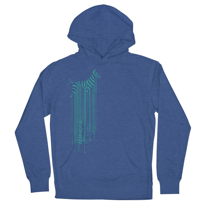 BlueDripDog Men's French Terry Pullover Hoody by Zebradog Apparel & Accessories