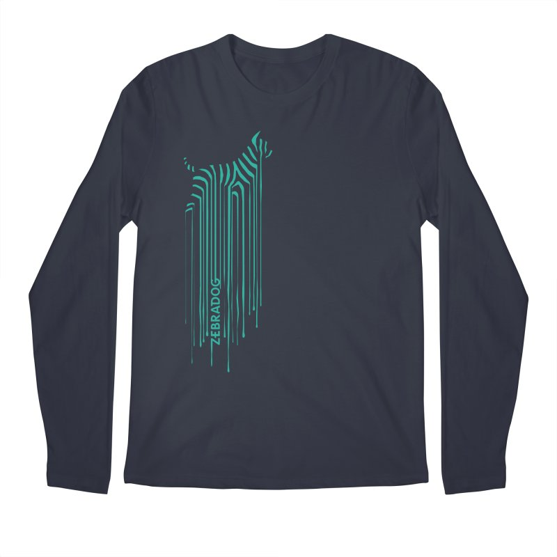 BlueDripDog Men's Regular Longsleeve T-Shirt by Zebradog Apparel & Accessories