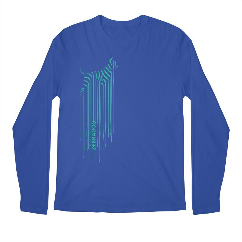 BlueDripDog Men's Longsleeve T-Shirt by Zebradog Apparel & Accessories