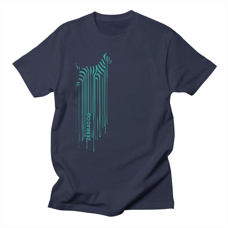 BlueDripDog Men's Regular T-Shirt by Zebradog Apparel & Accessories