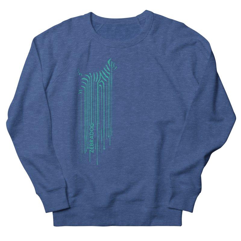BlueDripDog Men's French Terry Sweatshirt by Zebradog Apparel & Accessories
