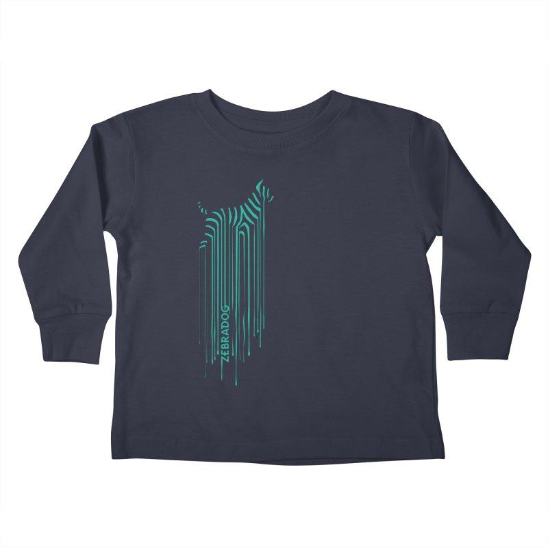 BlueDripDog Kids Toddler Longsleeve T-Shirt by Zebradog Apparel & Accessories