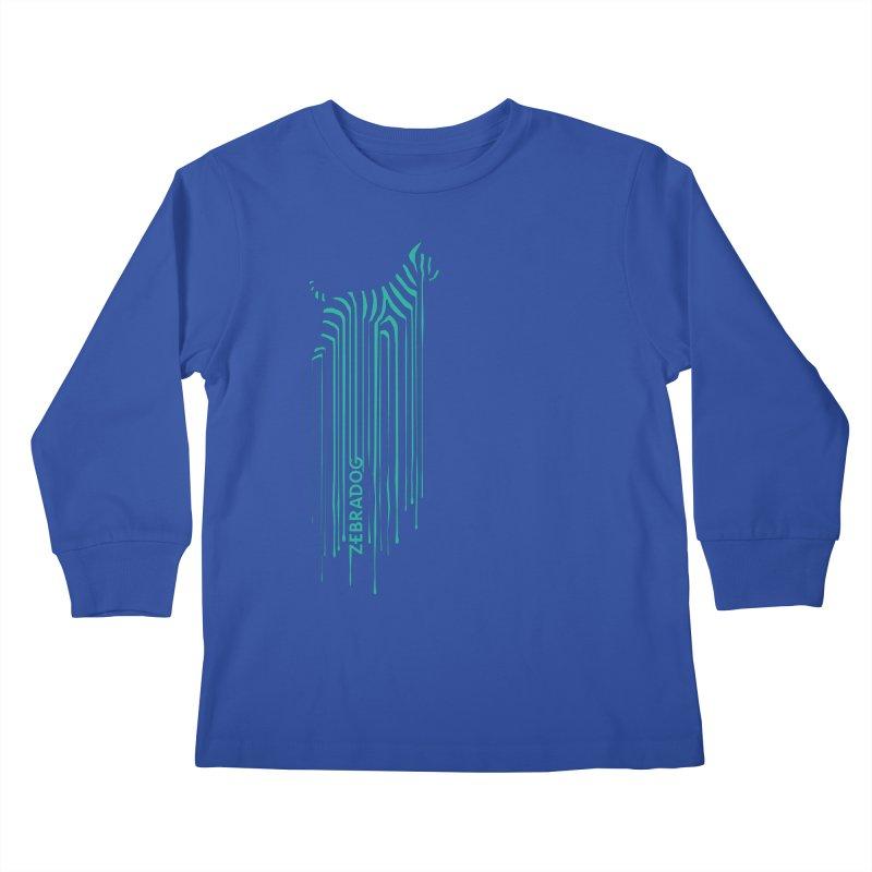 BlueDripDog Kids Longsleeve T-Shirt by Zebradog Apparel & Accessories